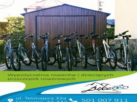 Wypożyczalnia rowerów Bikeowo