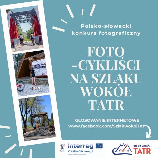 """Internetowe głosowanie w konkursie """"Foto-cykliści na Szlaku wokół Tatr"""""""