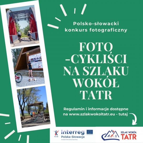 Ogłaszamy konkurs fotograficzny na Szlaku wokół Tatr!