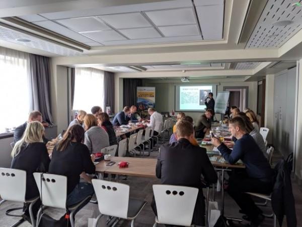Warsztaty szkoleniowe dla partnerów projekt Szlak wokół Tatr