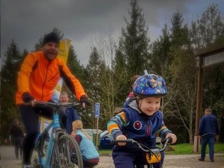 Aktywne rowerowe podsumowanie realizacji II etapu Szlaku wokół Tatr