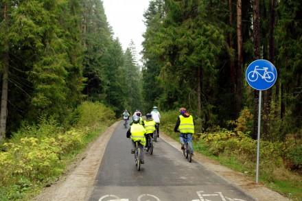 Gmina Szaflary o ścieżkach rowerowych
