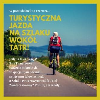Kręcimy program telewizyjny na Szlaku wokół Tatr!