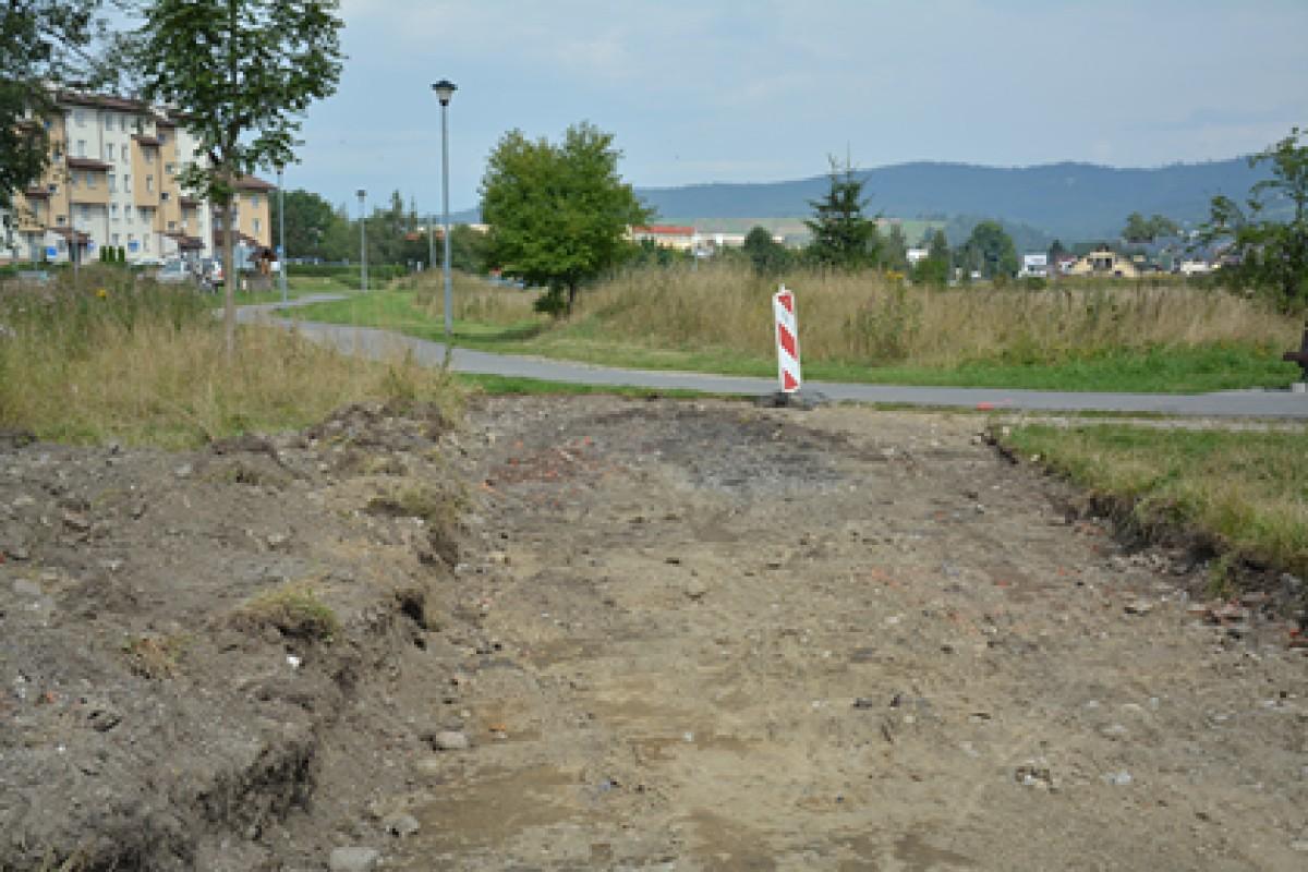 Miasto Nowy Targ buduje ścieżki rowerowe w ramach II etapu Szlaku wokół Tatr!