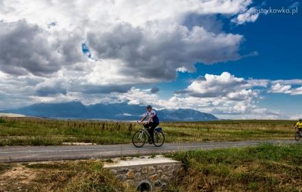Otwarcie ścieżek rowerowych Szlaku wokół Tatr w Kieżmarku i zawody rowerowe