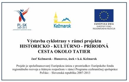 Powstaje kolejny odcinek trasy rowerowej w Kieżmarku