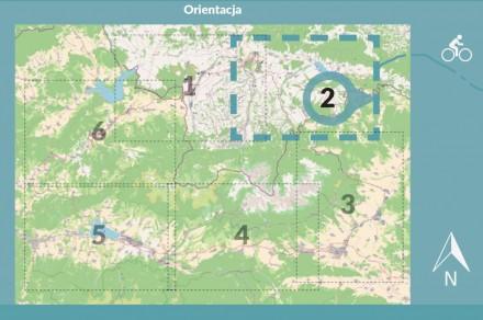 Przewodnik rowerowy i mapy II etapu Szlaku wokół Tatr