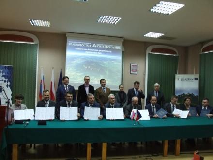 Umowa partnerska na realizację II etapu rowerowego Szlaku wokół Tatr podpisana!