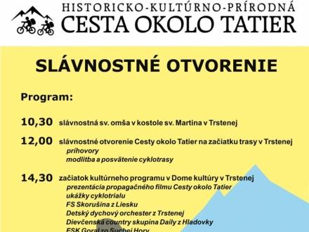 Uroczyste otwarcie słowackiej części Historyczno-kulturowo-przyrodniczego szlaku wokół Tatr
