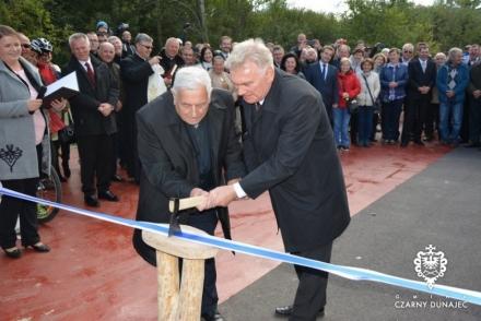 Wielkie otwarcie polskiej części trasy rowerowej I etapu Szlaku wokół Tatr