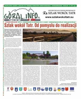 Specjalne wydanie gazety Góral.info.pl o Szlaku wokól Tatr