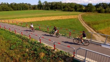 Wyniki pomiaru natężenia ruchu rowerowego