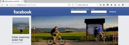 Zapraszamy do polubienia profilu rowerowego Szlaku wokół Tatr na facebooku!