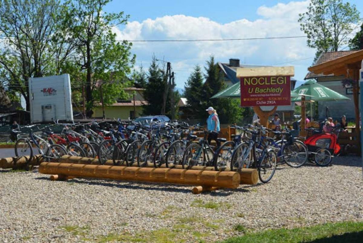 """Wypożyczalnia rowerów """"u Bachledy"""""""