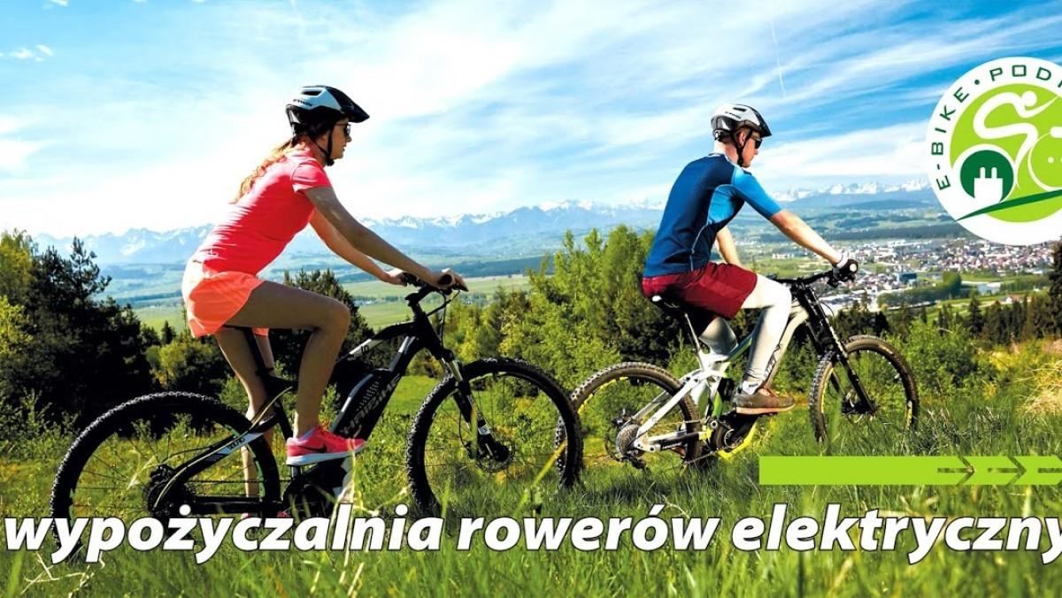 Wypożyczalnia rowerów elektrycznych E-Bike Podhale