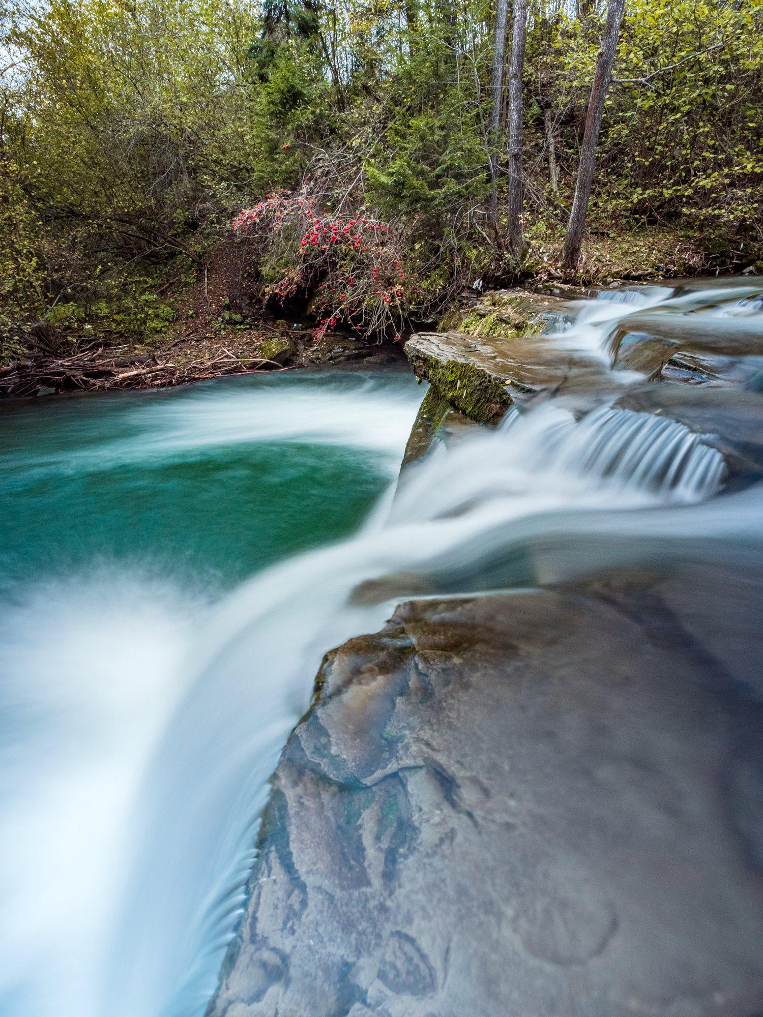 Wodospad 'Pod Mynaszką'  Kacwin