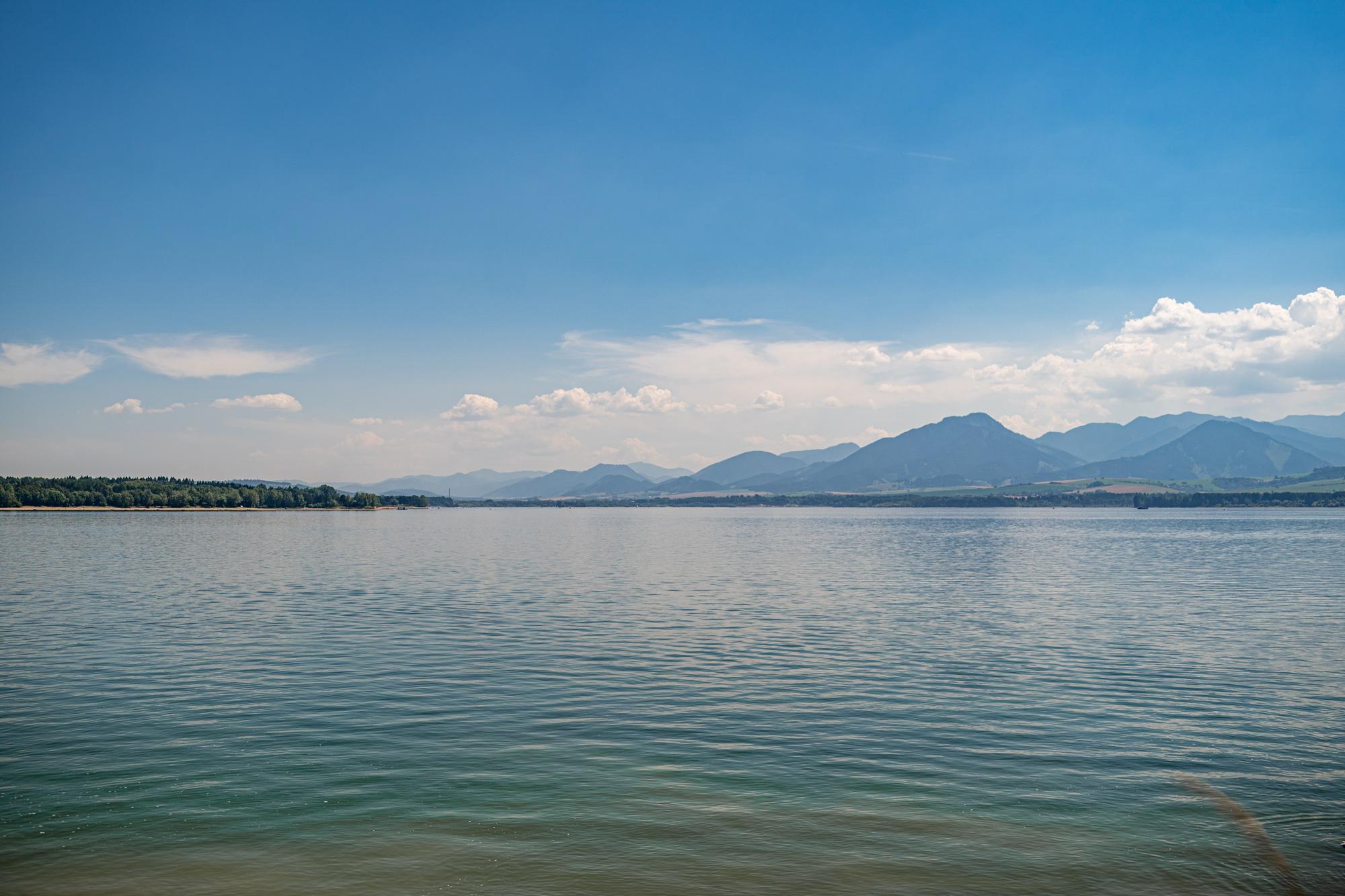 Oravska Priehrada  - Jezioro Orawskie