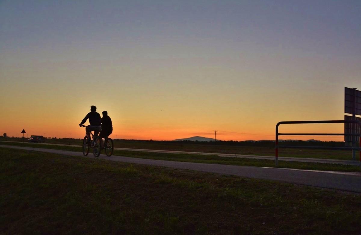 Trasa rowerowa z Koniówki w gminie Czarny Dunajec